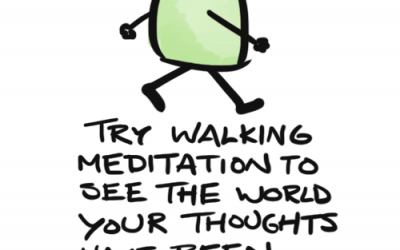 Mindful Reminder – Just Walking