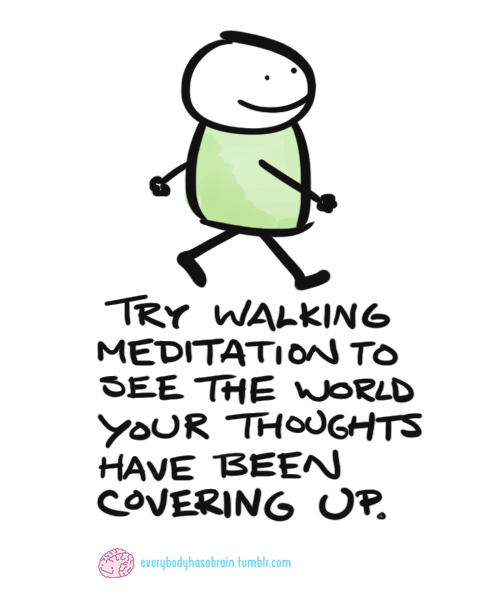 Mindful Reminder – Just Walking