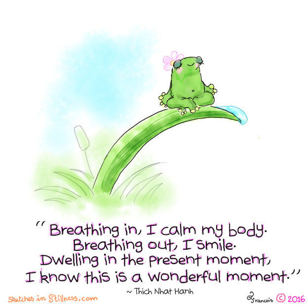 Mindful Reminder – Pause and Breathe!