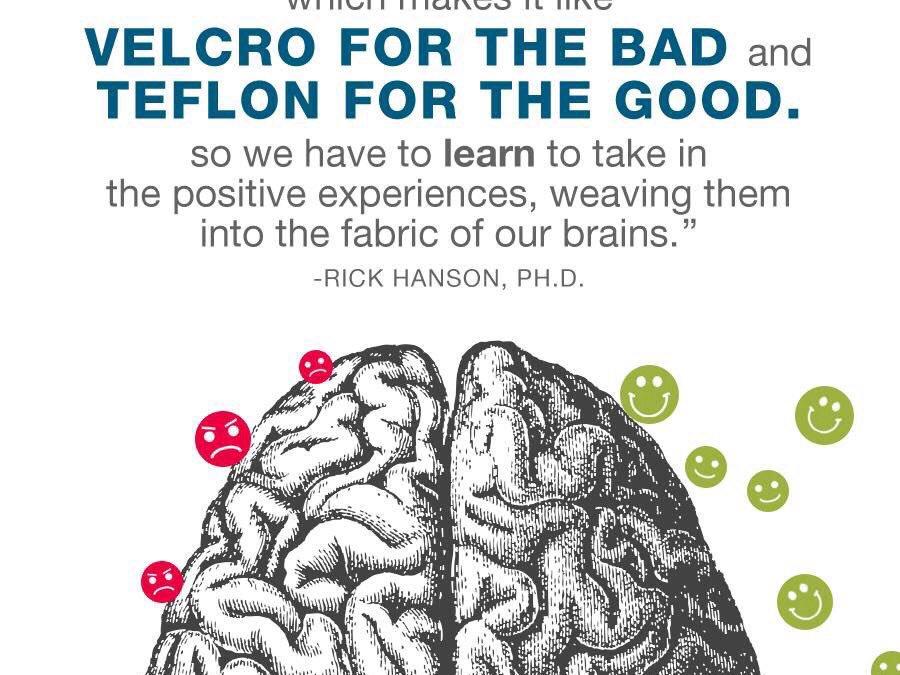 Mindful Reminder – Teflon V's Velcro